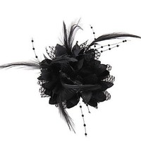 thumb-Prachtige Zwarte Bloem voor in je Haar-4
