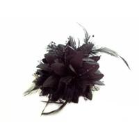 thumb-Prachtige Zwarte Bloem voor in je Haar-3