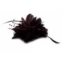thumb-Prachtige Zwarte Bloem voor in je Haar-5