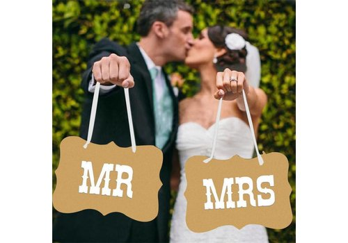 Mr & Mrs Bordjes - Bruiloft Decoratie