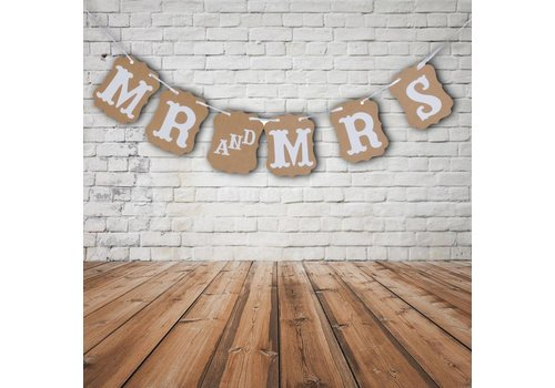 Mr & Mrs Slinger - Bruiloft Decoratie