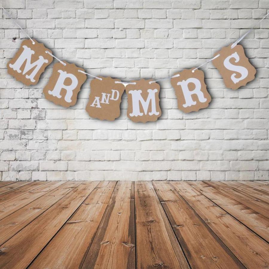 Mr & Mrs Slinger - Bruiloft Decoratie-1
