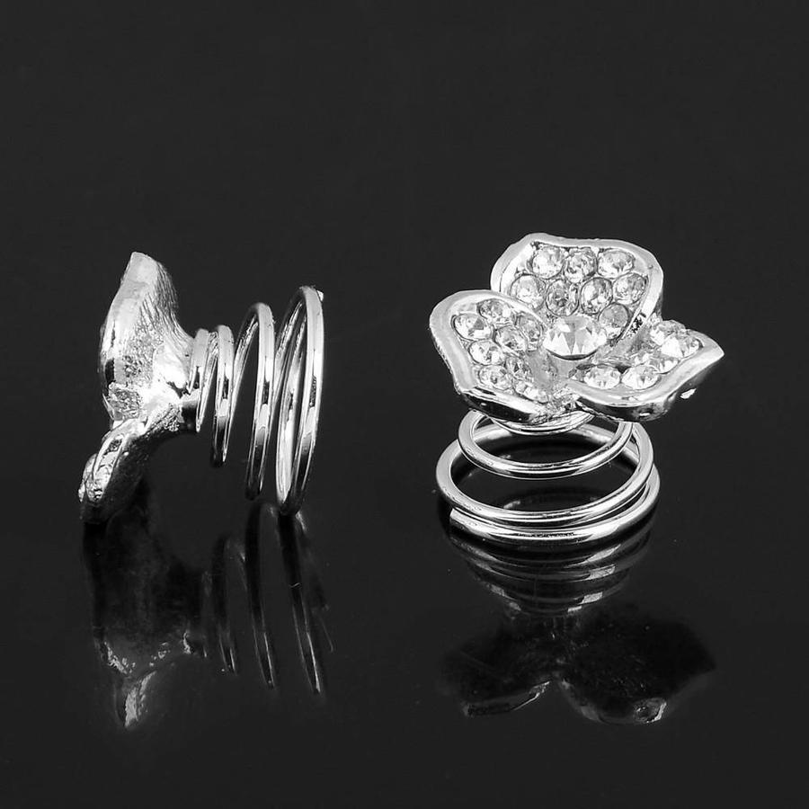 Fonkelende Curlies met Diamant - 6 stuks-1