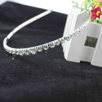 thumb-Elegante Diadeem met Kristallen-2