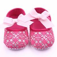 thumb-Roze Ballerina's / Babyschoentjes met Glitter - 0 tot 6 maanden-2