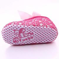 thumb-Roze Ballerina's / Babyschoentjes met Glitter - 0 tot 6 maanden-6