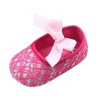 thumb-Roze Ballerina's / Babyschoentjes met Glitter - 0 tot 6 maanden-7