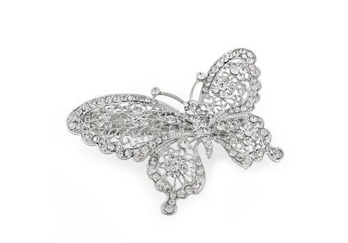 Fonkelende Vlinder Haarclip