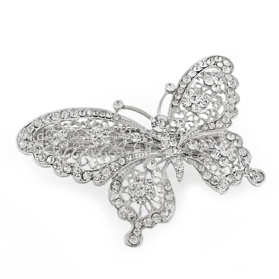 Fonkelende Vlinder Haarclip-1