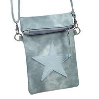thumb-SALE - Flip top star bag / schoudertas / Groen-1