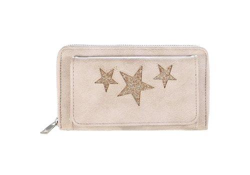 SALE - Portemonnee Sterren - Beige - Portemonnee Pocket Stars