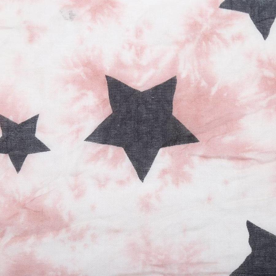 SALE - Prachtige Sjaal Night Star - Zalm-2