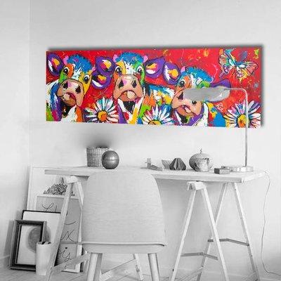 Kunstdruk op canvas