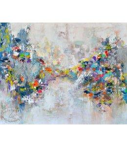 """Corrie 120 x 100 cm schilderij  """"Abstract III"""""""
