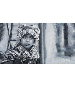 """Corrie 160x90 cm schilderij """"Zuid Amerika 1"""""""