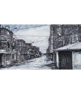 """Corrie 160x90 cm schilderij""""Zuid Amerikaaans 2"""""""