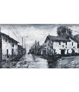 """Corrie 160x90 cm schilderij""""Zuid Amerikaans 3"""""""