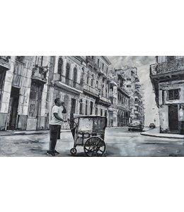 """Corrie 160x90 cm schilderij""""Zuid Amerika 6"""""""