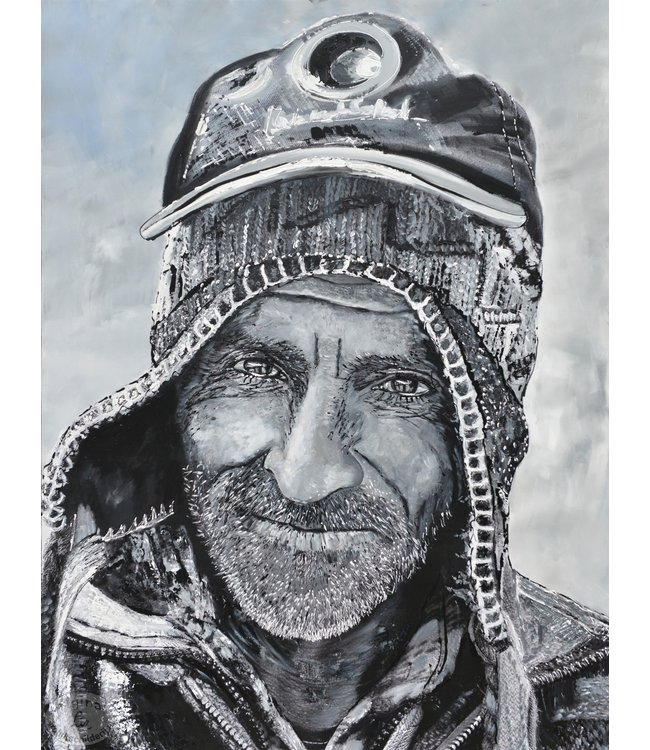 """Corrie 90x120 cm schilderij """"Zuid Amerikaans 10"""""""