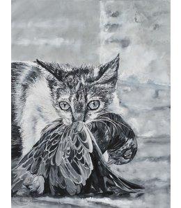 """Corrie 90x120 cm schilderij """"Zuid Amerikaans 11"""""""