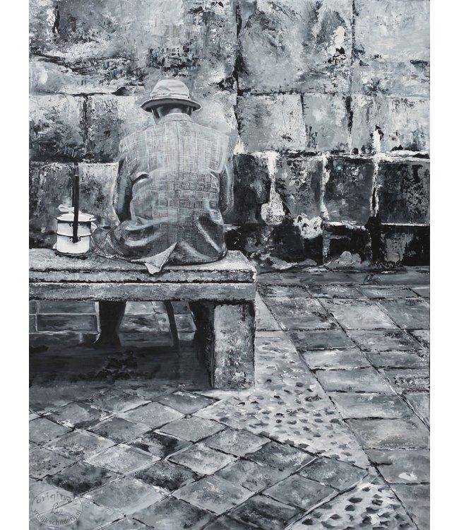 """Corrie 90x120 cm schilderij """"Zuid Amerikaans 13"""""""