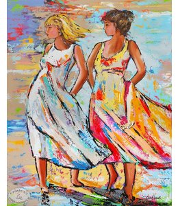 90 x 120 Two Lady`s