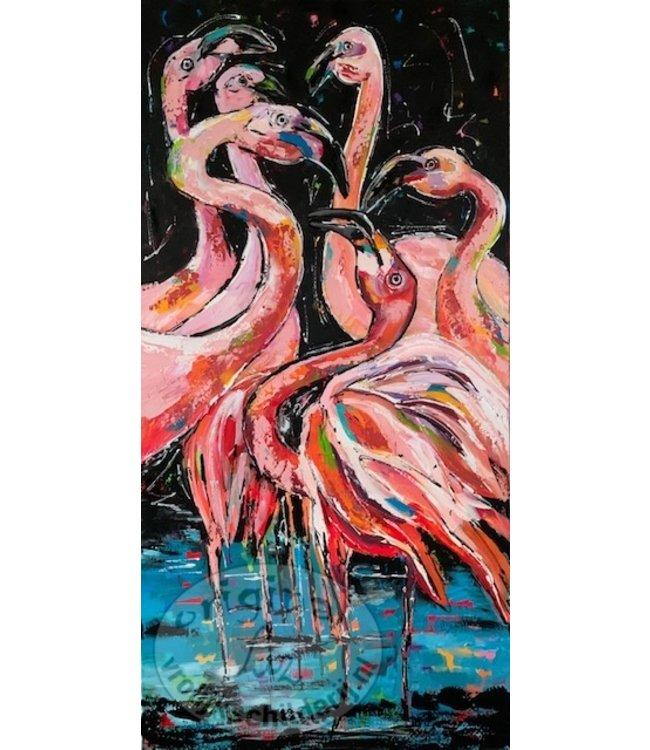 Corrie 80 x 160 Flamingo`s