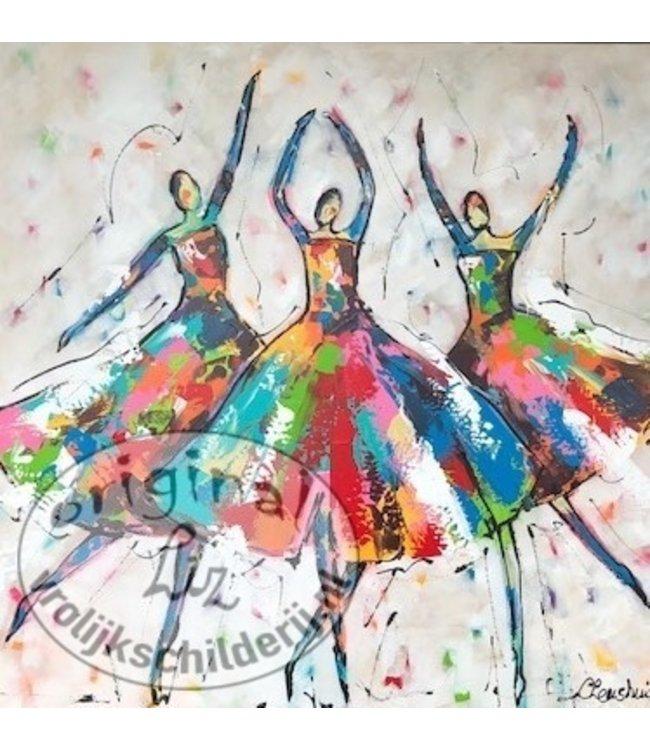 Corrie 80 x 80 ''De Dans