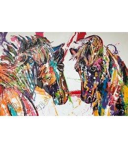 Corrie 120 x 80 ''Twee Paarden''