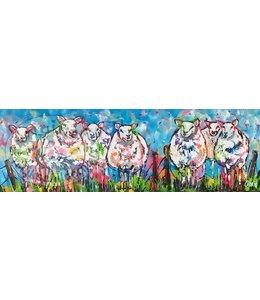 Corrie 40 x 120 ''Schapen''