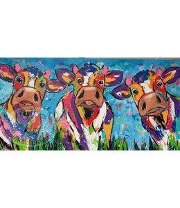 Corrie 160 x 80 ''Drie naast elkaar''