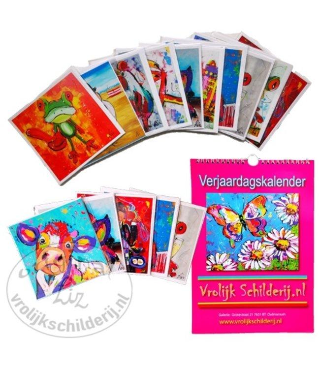 1 Kleine Kalender + 15 Ansichtkaarten