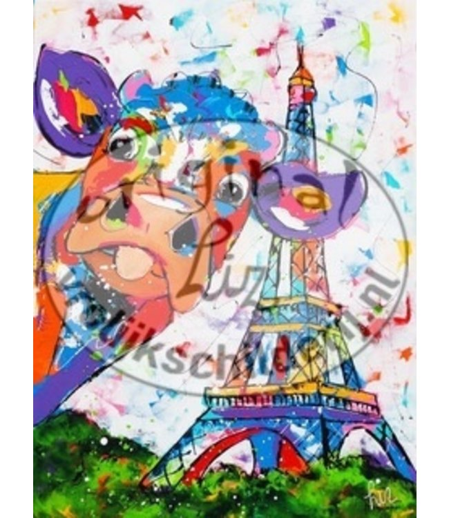 Corrie 80 x 100 '' Koe in Parijs