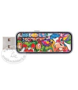 USB Stick 4GB Lekker vrolijk