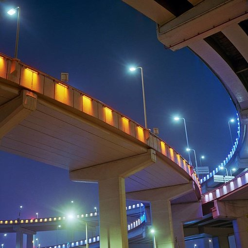 Kaspar Bossers Nanpu Bridge Overpass