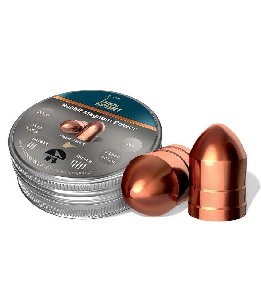 H&N Rabbit Magnum Power 4.5mm 200pcs