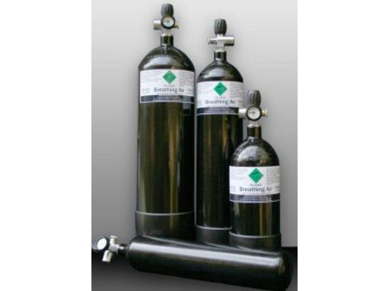 Duikfles 4 liter + Vulset