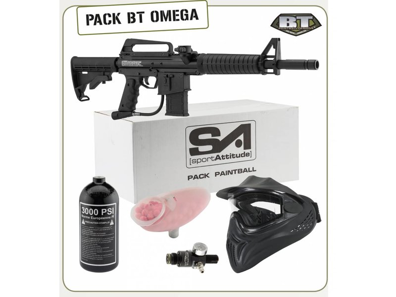 Sport-Attitude BT Omega Air Paintball Pack