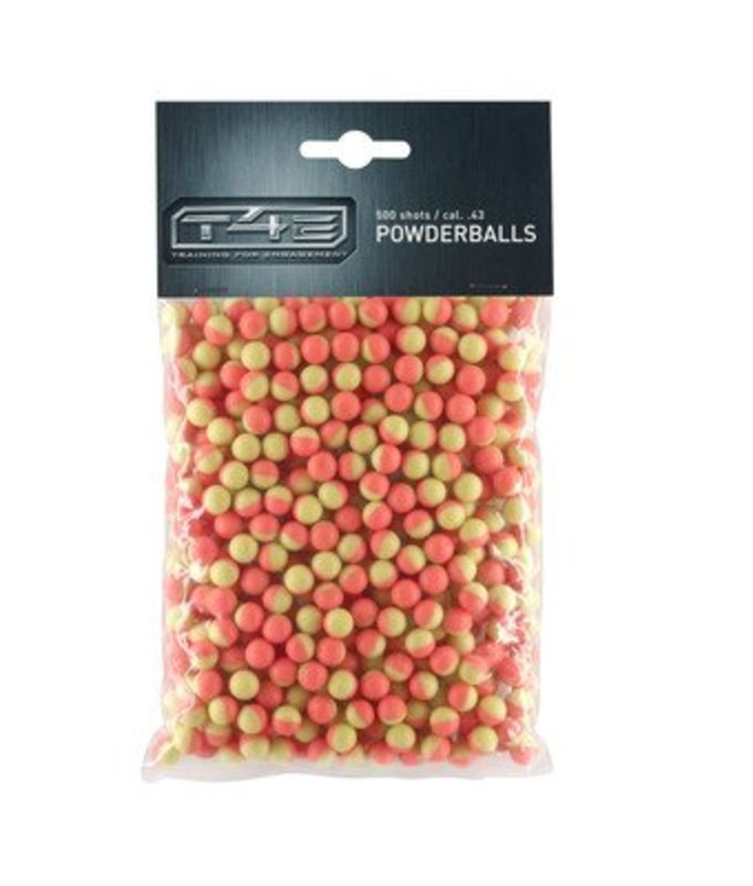Umarex T4E .43 Powderballs Pink 500rds