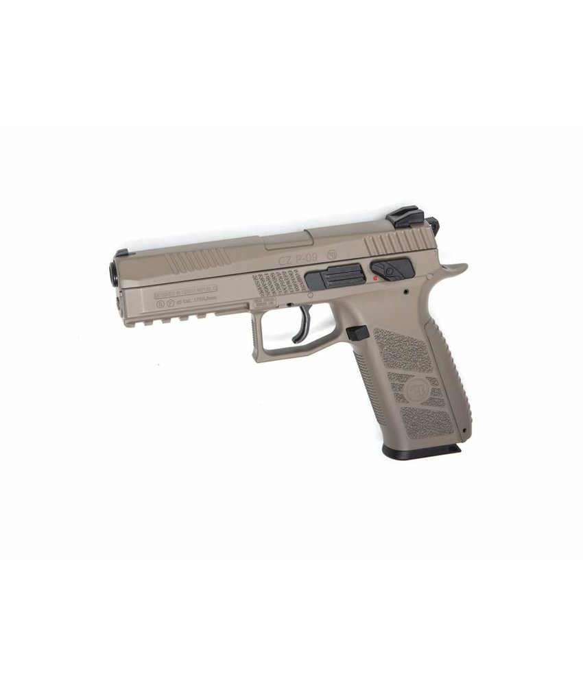 ASG CZ P-09 Pellet Airgun (Dark Earth)