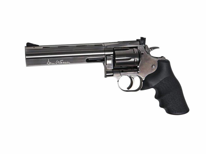 """ASG  Dan Wesson 715 - 6""""Pellet Airgun (Steel grey)"""