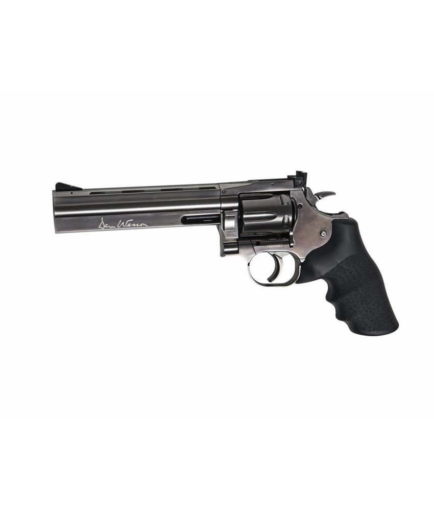 "ASG Dan Wesson 715 - 6""Pellet Airgun (Steel grey)"