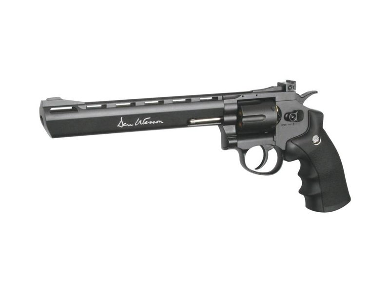 "Dan Wesson 8"" Revolver (Grey)"