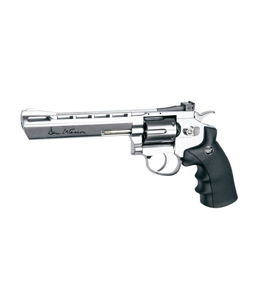 "Dan Wesson 6"" Revolver (Chrome)"