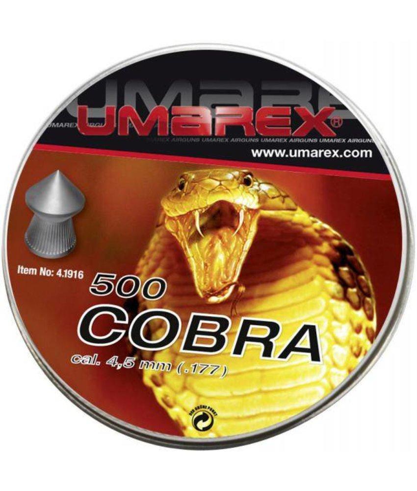 Umarex Cobra 4.5mm Pellets 500pcs (0.56g)