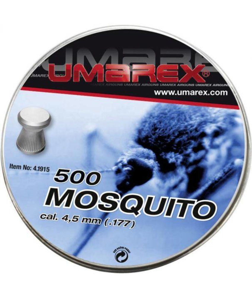 Umarex Mosquito 4.5mm Pellets 500pcs (0.48g)