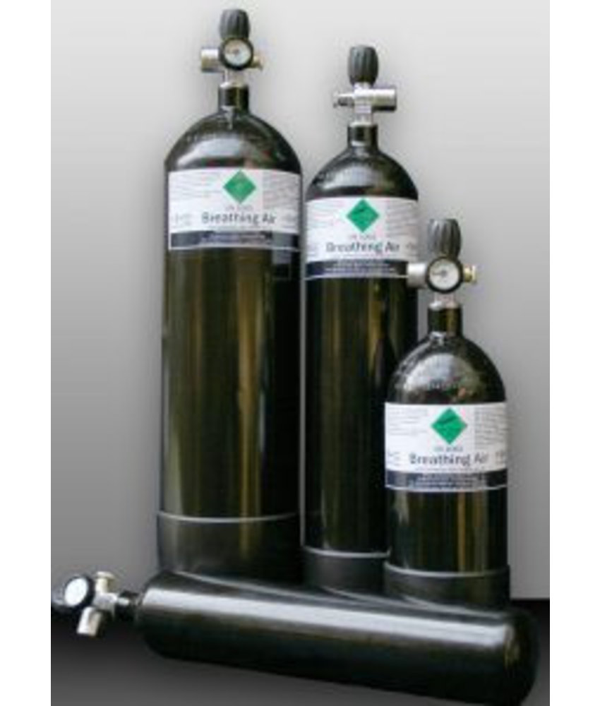 Airsoftshop Duikfles 7 liter + Vulset