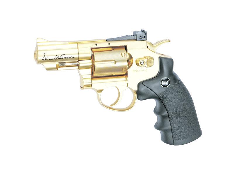 "Dan Wesson 2,5""Gold revolver AIRGUN"
