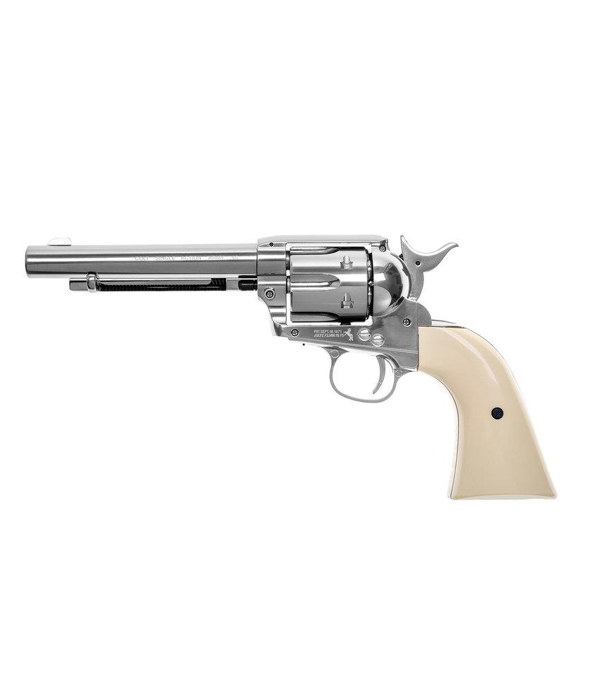 "Colt Revolver Colt SAA 45 5.5""  Nickeled"