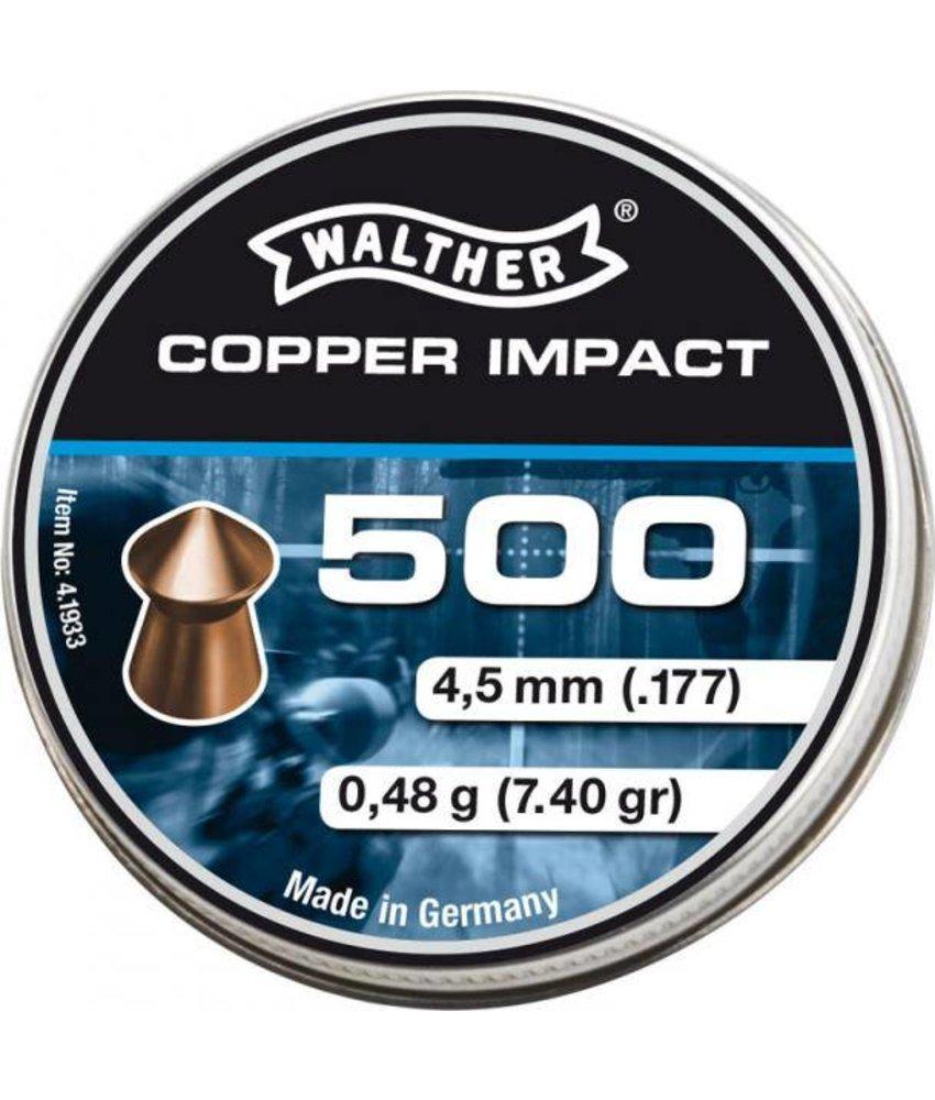Umarex Copper Impact 4.5mm Pellets 500pcs (0.48g)